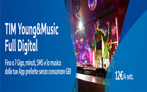 Promozione Tim Young&Music Full