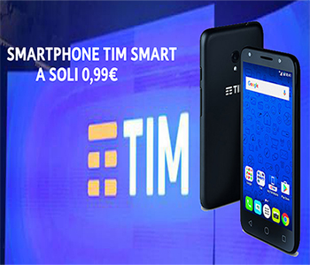 Smartphone Tim Smart a rate da 0,99€