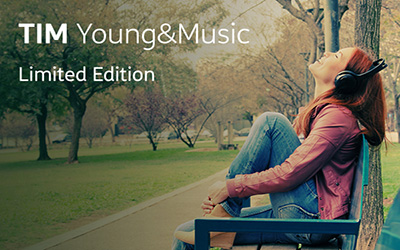 Tim Young&Music Limited edition con minuti e giga raddoppiati
