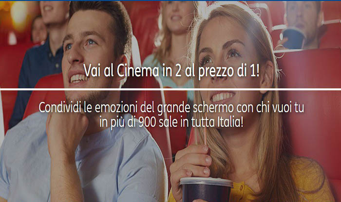 Cinema 2×1: al cinema con Tim